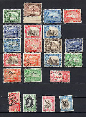 Aden 36 Different Mnh / Mh / Used Stamps