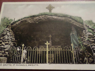 Postcard The Grotto St. Michaels Omeath Co. Louth