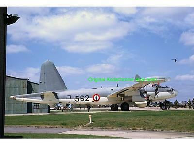 Original Kodak 35mm aircraft slide,Lockheed P2V-7 Neptune, French Navy, 7/1973