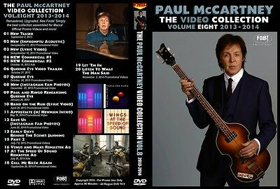 PAUL McCARTNEY THE VIDEO COLLECTION VOL.8 2013-2014 DVD