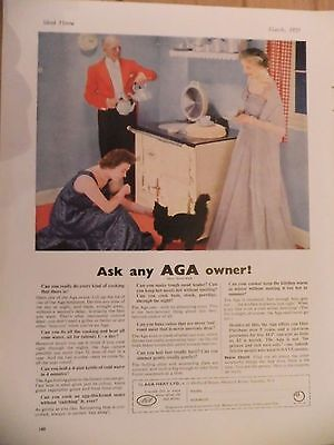 1955 Advert....aga Cooker....ask Any Aga Owner!