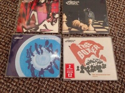 Collection of 4 CHEMICAL BROTHERS CD SINGLES– Life Is Sweet / Block Rockin Beats