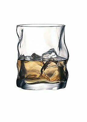 Bormioli Rocco Sorgente Whisky Glasses Set of 2 x 420ml