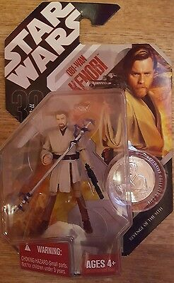 Star Wars Obi Wan kenobi revenge of the sith 30th anniversary figure