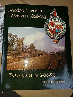 London and South Western Railway LSWRKevin Robertson softback steam railway book