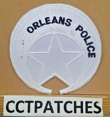 "New Orleans, Louisiana Missing ""new"" Police White Shoulder Patch La"