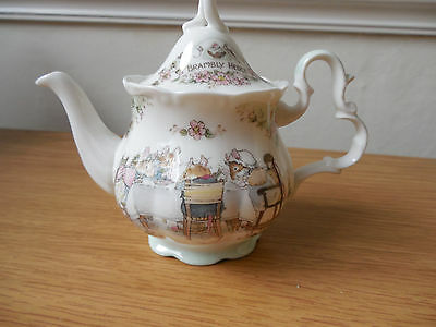 Brambly Hedge - Miniature 'Tea Service' Teapot - 2nd quality