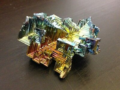 Beautiful Bismuth Crystal | 40g (1.41 ozs) | Professionally Grown in Canada