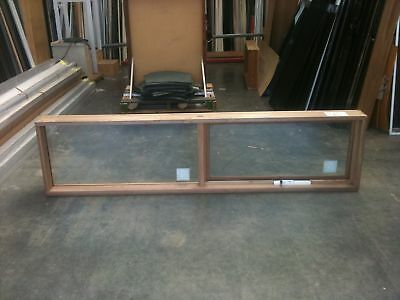 Timber Awning Window 596h x 2374w Double Glazed (BRAND NEW IN STOCK)