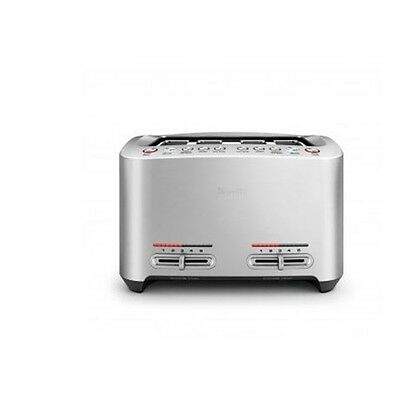 New Breville The Smart 4 Slice Toaster Stainless Steel