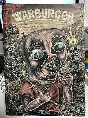Warburger By Stripburger Featuring Jens Harder, Mike Diana, Peter Kuper, Mawil