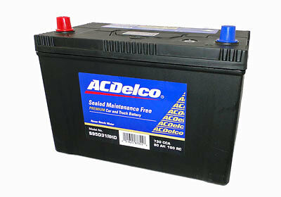 AC DELCO 12v N70ZZ truck battery HIGH POWER MAINTENANCE FREE 4WD MARINE