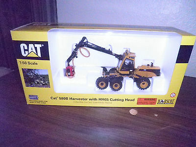 Norscot CAT 580B Harvestor w/ HH65 Cutting Head 1:50 Scale NEW/Box Free Shipping