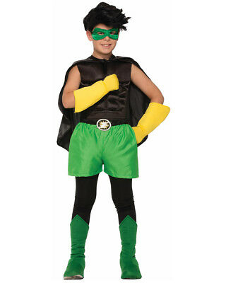 Child's Be Your Own Superhero Super Hero Green Boxer Shorts Costume Accessory