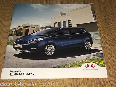 KIA - The New Carens Sales Brochure 2017