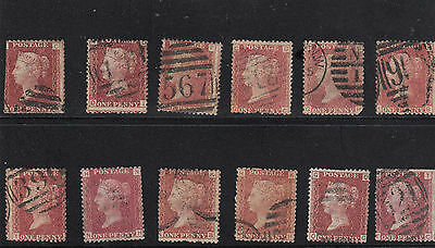 80% Discount Sg43/44 Plate V183 - Queen Victoria Individual Stamps