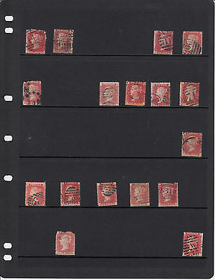 80% Discount Sg43/44 Plate 145 - Queen Victoria Individual Stamps