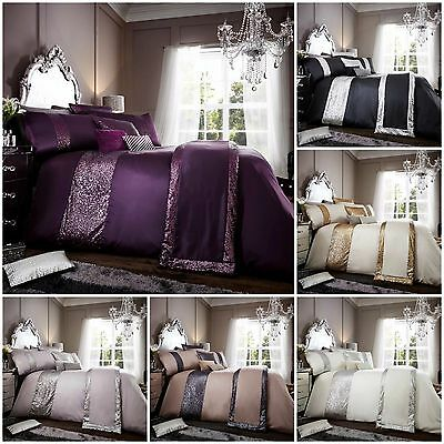 New luxury duvet cover sets with pillowcases double super king single size bed