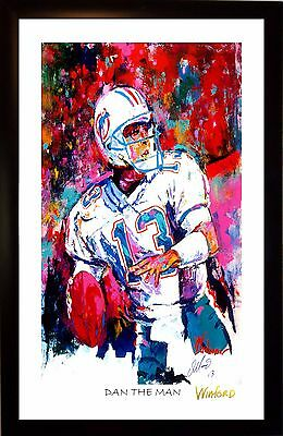 70% Sale Dan Marino Fine-Art Print Signed By Painter To Stars Winford