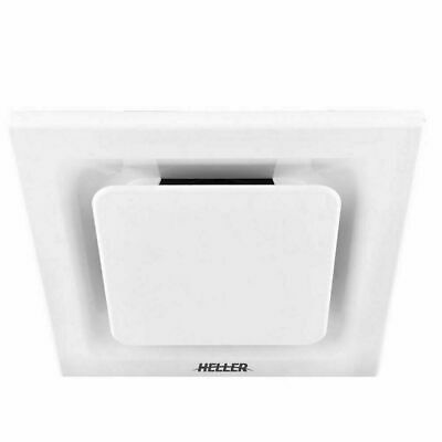 Heller 200mm White Ducted Exhaust Fan Laundry Bathroom Ventilation Ceiling
