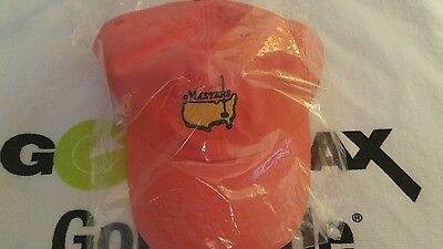 2016 MASTERS (Orange) PERFORMANCE Golf HAT from AUGUSTA NATIONAL