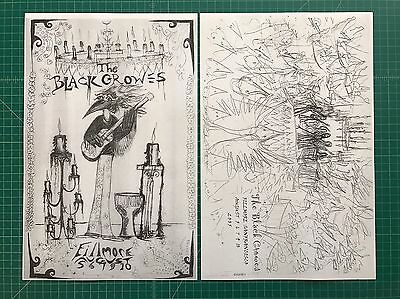 The Black Crowes posters August 5 & 9th 2005 The Fillmore SF CA FREE SHIP