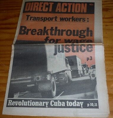 Direct Action Australian Communist / Socialist newspaper July 1981 political