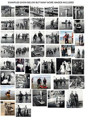 200+ Images From Vintage Scuba Diving Photo Album - Lots Of Girl Skin Divers