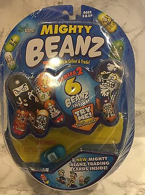 Lot of 3 MIGHTY BEANZ SERIES 2 2003 Spin Master Toy 18 Beanz 9 Cards NEW