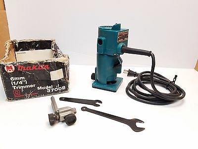 Makita 3700B Laminate Trimmer Cutter Router 1/4 in. Fixed Base
