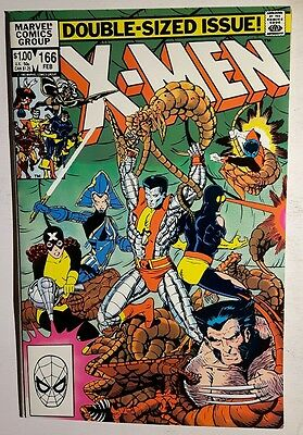 The Uncanny X-Men #166  NM    (Feb 1983, Marvel)