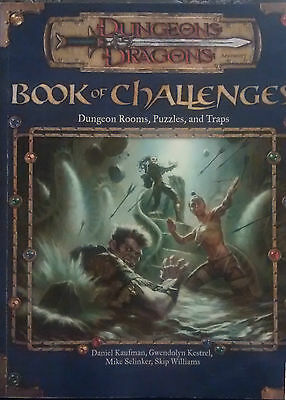 Book of Challenges Dungeon Rooms, Puzzles, and Traps- Dungeons & Dragons D&D