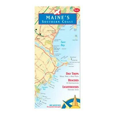 Map Adventures 103084 Maine Southern Coast Book