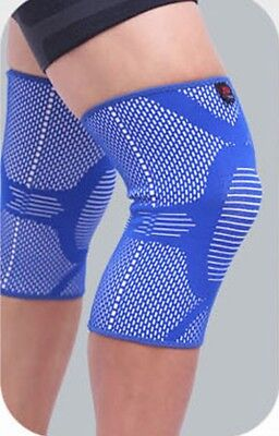 1 Elastic Sports Stretch Knee Brace Strap Compression Leg Protector Powerlifting