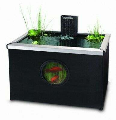 Blagdon Affinity Rectangle Living Feature Pool - Black