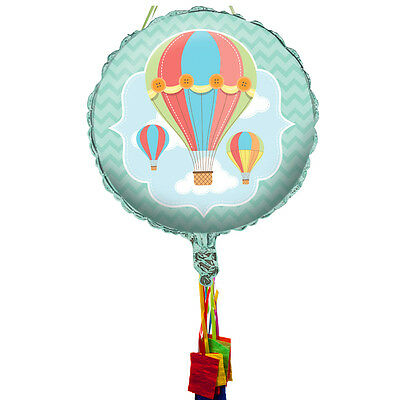 Up, Up & Away Pull String Pinata - Party Supplies