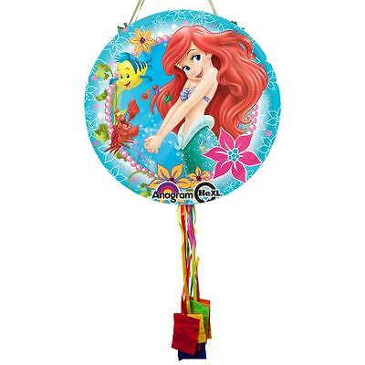 Little Mermaid Ariel Pull String Pinata - Party Supplies