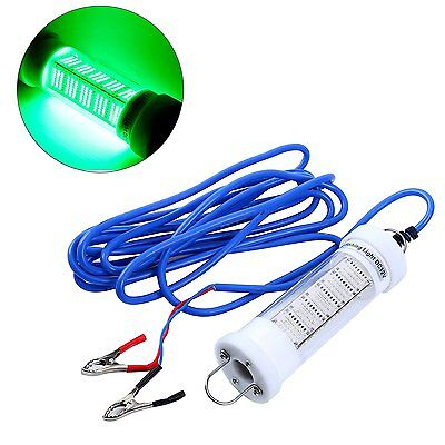 12v underwater green led fishing light, snook light, dock night, Reel Combo
