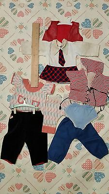 Vintage Doll Clothes Lot of 8 pc