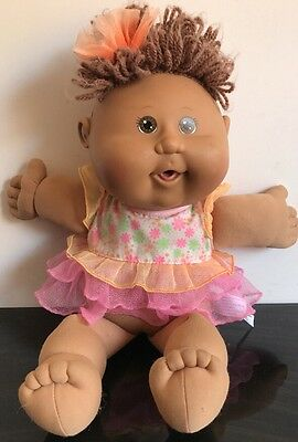 Cabbage Patch Doll 2004 Brown Hair & Eyes Fast Free Post