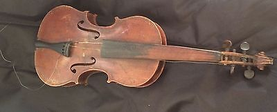 Vintage old violin from Hungary - hand made