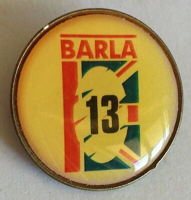 Barla British Amatuer Rugby League Association Pin Badge Sports Collectable (E5)