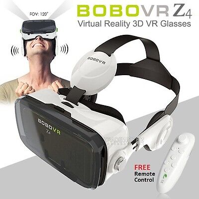 BOBOVR Z4 3D Portable Virtual Reality Headset Earphone Game Movies Video Glasses