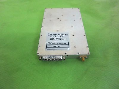 luff research inc RF-Frequency-synthesizer-50-180MHz-1KHz-STEPS TLS00500180/1K