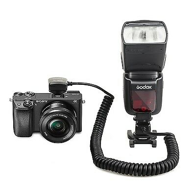 Meike MK-FA02 3M TTL Sync Cable Cord Off Camera MI for Sony Flash Speedlite