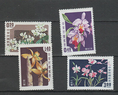 Taiwan , 1958 Orchids   Set Mh