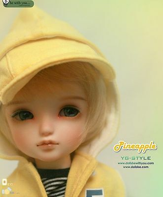 1/6 Bjd Doll SD Pineapple BB Free Face Make UP+Free Eyes