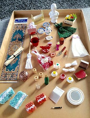 Dolls House Miniatures. Accessories. Please See List & Photos.
