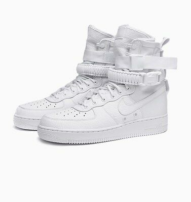 Nike Air Force 1 Special Force SF AF1 US8.5 EU42 UK7.5 Triple White NEW DS