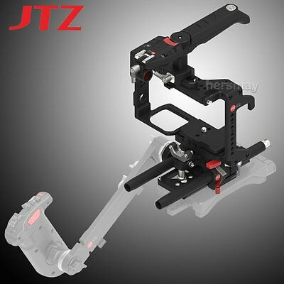 JTZ DP30 Camera Cage Baseplate Rig & Handle Grip For Panasonic Lumix GH3/4 GH5/s